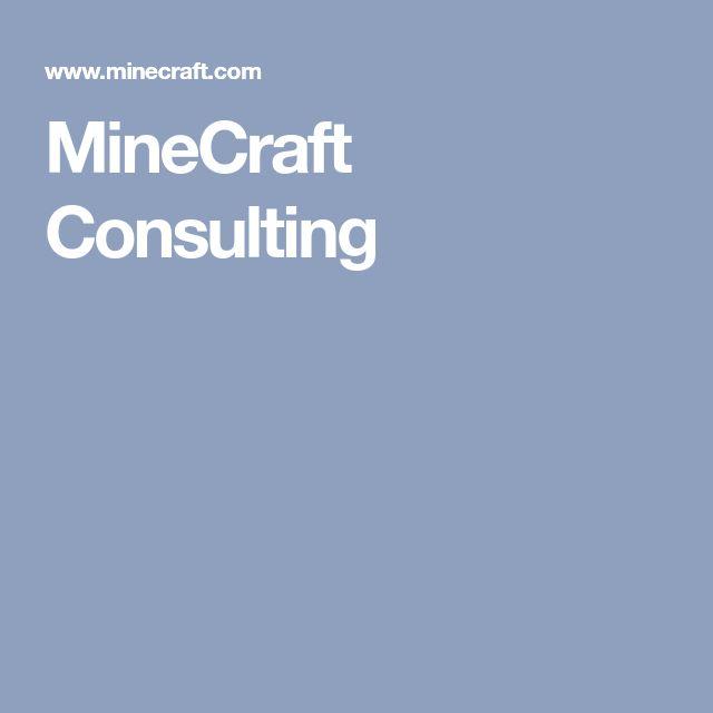 MineCraft Consulting