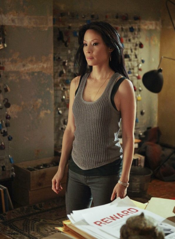 Liu On Elementary | The New Sherlock Holmes 'Elementary' My Dear Lucy Liu Makes the ...