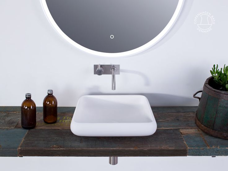 """Ardea 40"" wash basin from Copenhagen Bath."