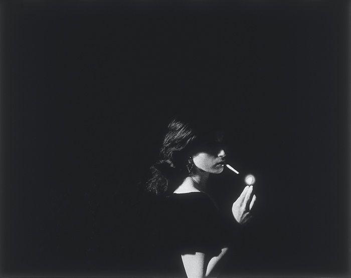 "Untitled Film Still No.32 1979 Black and white photograph 40.6 x 50.8 cm  16 x 20"""