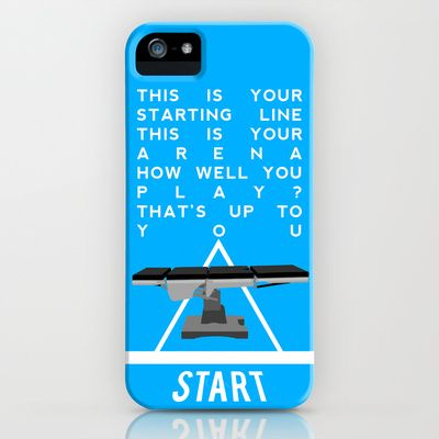 Grey's Anatomy - The Game iPhone & iPod Case by drmedusagrey - $35.00