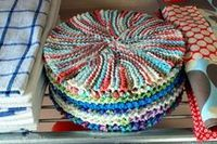 Crazy eights dishcloth …
