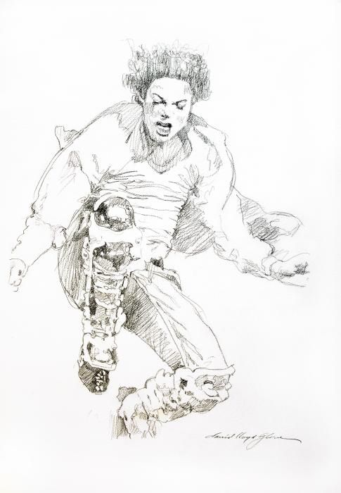 History Concert - Michael Jackson by David Lloyd Glover - History Concert - Michael Jackson Drawing - History Concert - Michael Jackson Fine Art Prints and Posters for Sale