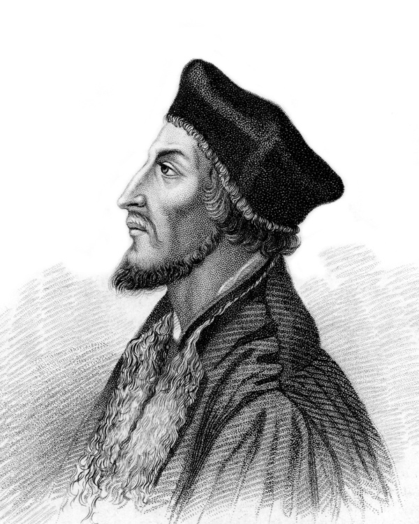 Jan Hus (Czech pronunciation: [ˈjan ˈɦus] ( listen); c. 1369 – 6 July 1415), often referred to in English as John Hus or John Huss, was a Czech priest, philosopher, reformer, and master at Charles University in Prague. After John Wycliffe, the theorist of ecclesiastical Reformation, Hus is considered the first Church reformer, as he lived before Luther, Calvin, and Zwingli.