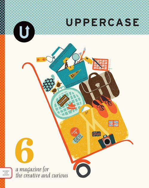 Behind-the-scenes At Uppercase Magazine on http://blog.howdesign.com
