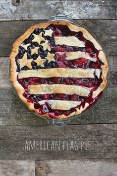 We would never want to say bye bye to this American flag pie. Make this 4th of July pie and your guests will be so impressed!