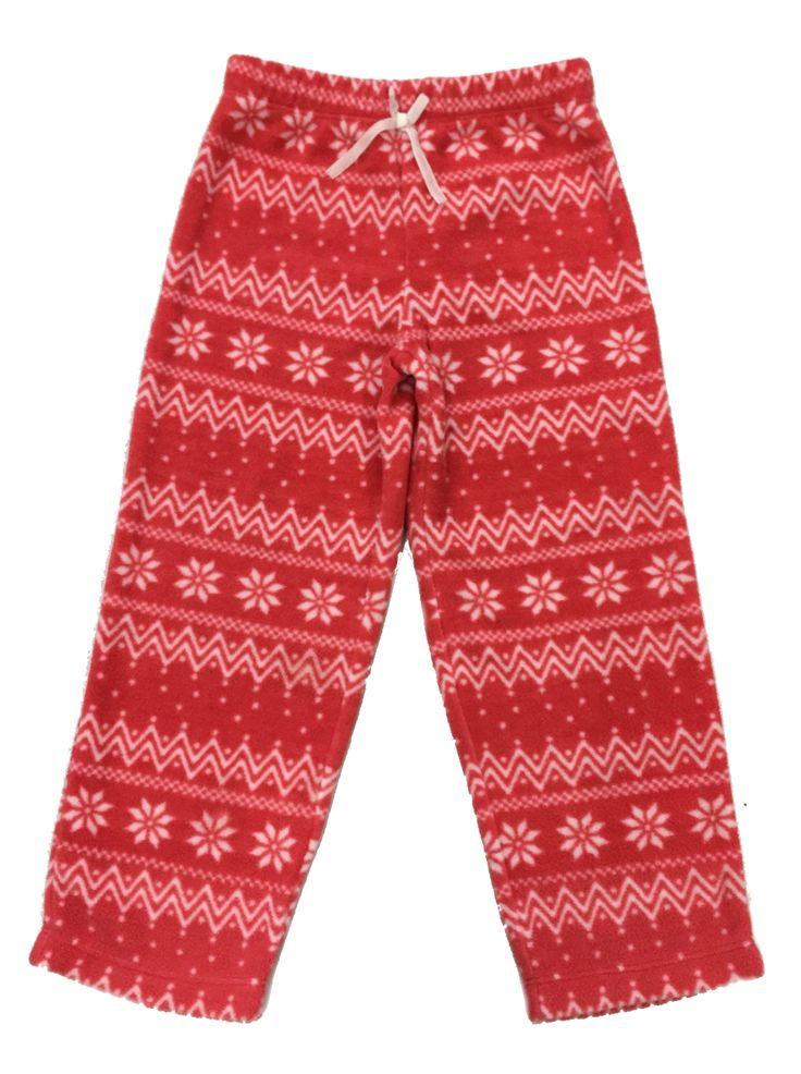 Girl's Coral Zig Zag Walk Fur Pyjama