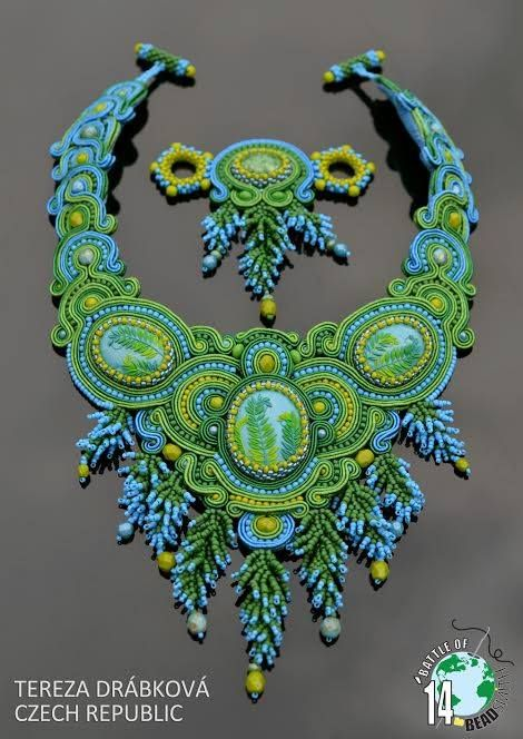Beautiful necklaces from BOTB 2014 (II) | Beads Magic