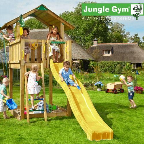 Jungle Gym Chalet - Wooden Climbing Frames for Children - Jungle Gym