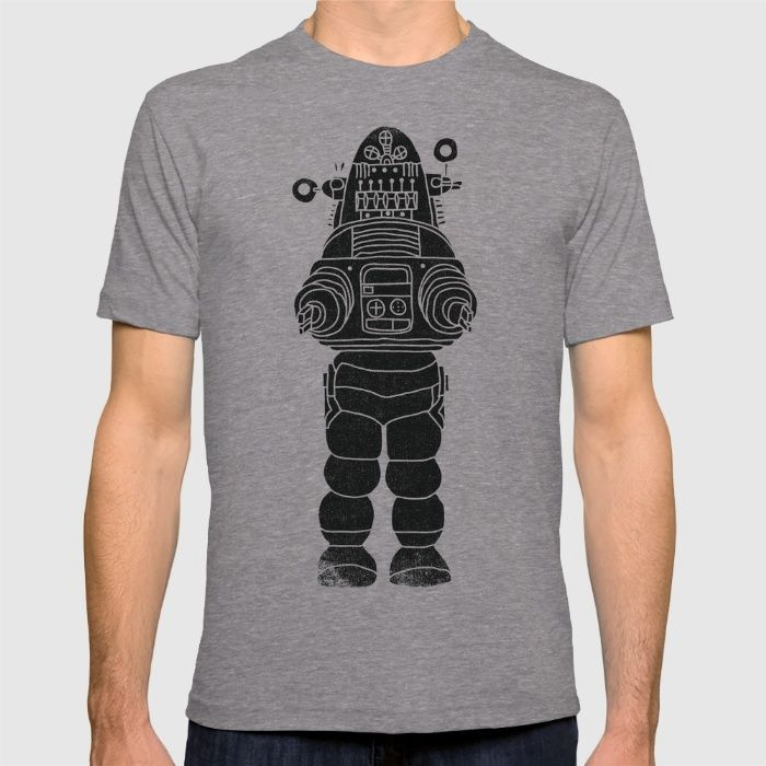 ROBBY THE ROBOT T-shirt by Matthew Taylor Wilson on society6