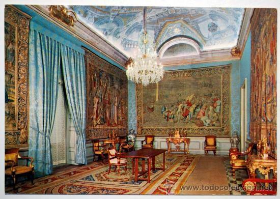 Segovia la granja de san ildefonso palacio real c mara for Ministerio de relaciones interiores espana