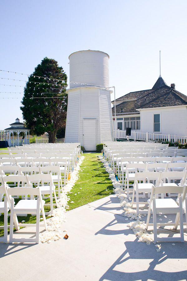 backyard wedding venues in orange county ca%0A Newland Barn  Huntington Beach Pinwheel Wedding  handmade pinwheel  www joyfulweddingsandevents com