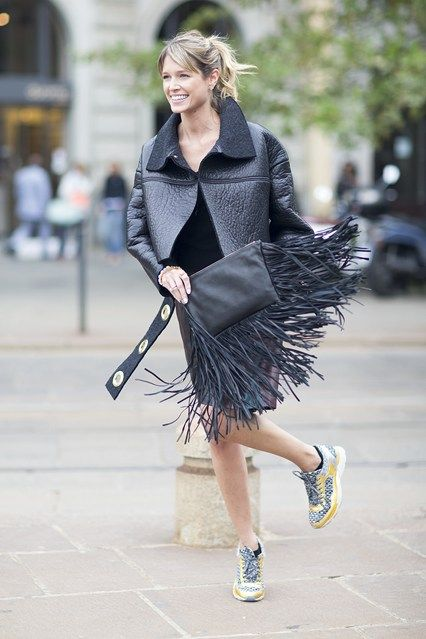 Urban Retro Fashion Trends By Vogue Throwing Together A Splash Of Swinging Sixties And A Slug Of