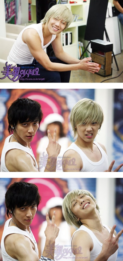 You are Beautiful...Shin Woo (Yong Hwa) and Jeremy (Lee Hongki). Ahh they are amazing