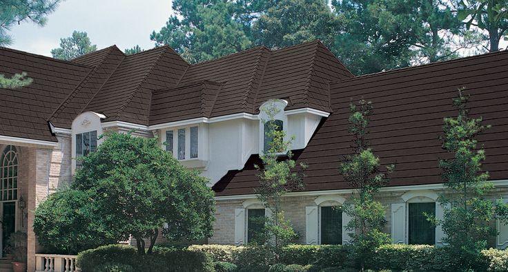 MetalWorks® Steel Shingles in AstonWood®, Timber Brown #roofing