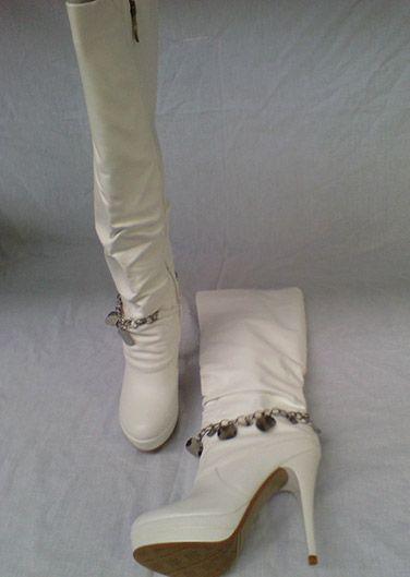 Ladies Knee Length Stiletto High Heel Long Platform Boots ! Price £19.99 ONLY.