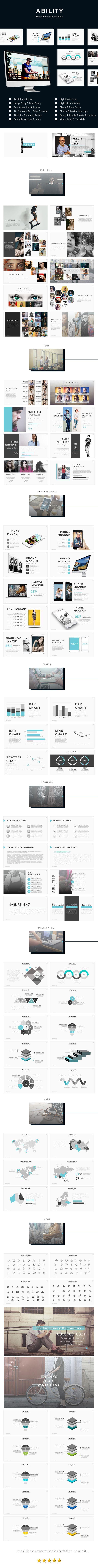 Ability - PowerPoint Presentation Template - 74 Unique Slides