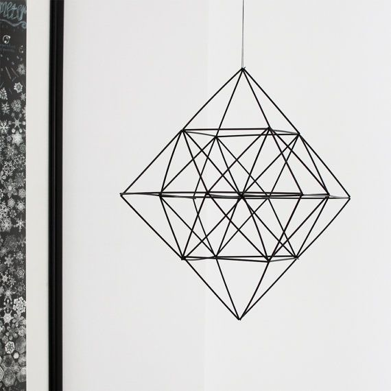 Himmeli Diamond Modern Hanging Mobile
