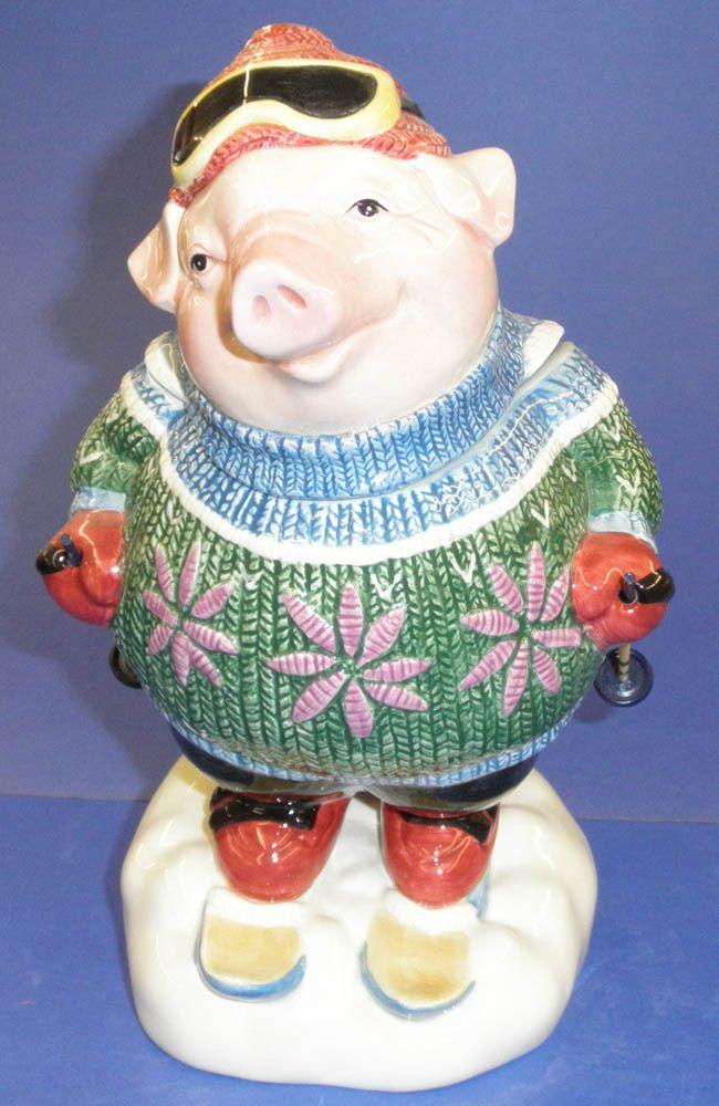 F PIG SKIIER