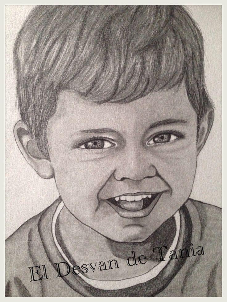 Retrato a lápiz Adrian!!
