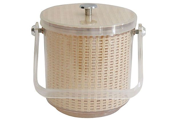 Midcentury Lucite Ice Bucket on OneKingsLane.com