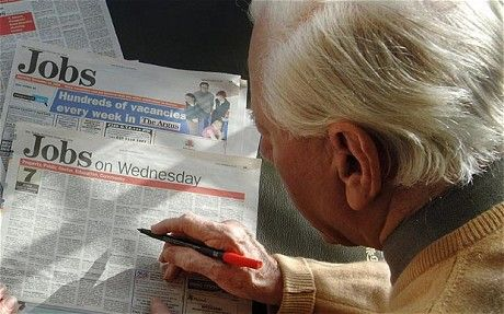 Older Unemployed Less Likely To Get Hired Again
