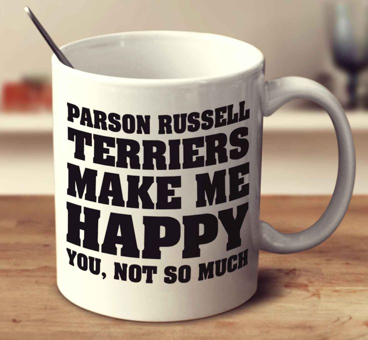 Parson Russell Terriers Make Me Happy