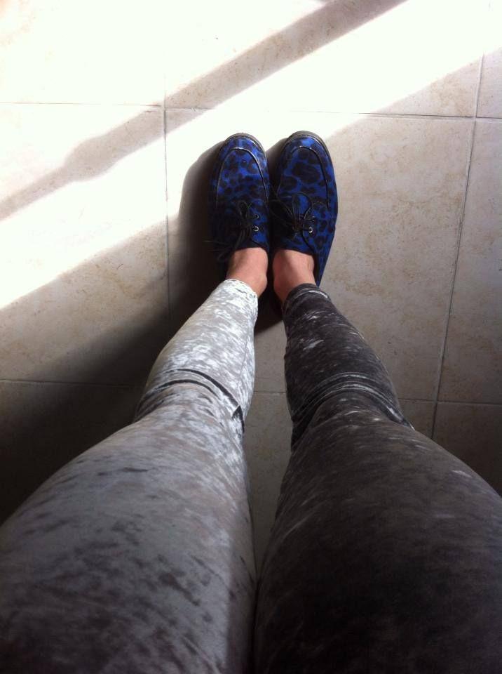 pcp grey velvet leggings
