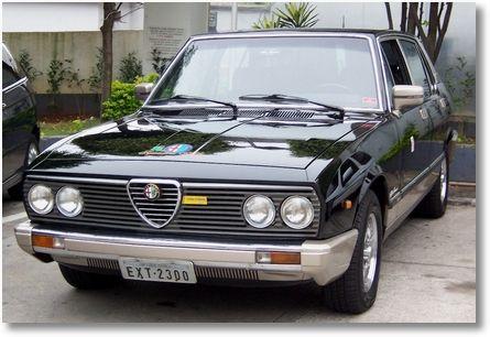 1978-1987 ALFA ROMEO 2300 TI - produced by FNM in Brazil.