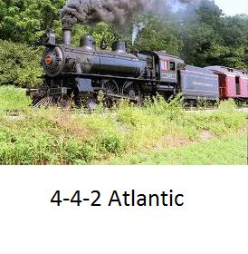 The 4-4-2's were the first to have trailing wheels. (The 2 under the cab and firebox) Meaning you could have a bigger firebox.