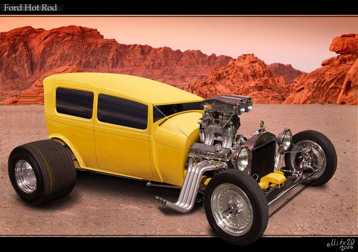 Custom Hot Rods | Custom Ford Hot Rod by ~ollite20 on deviantART
