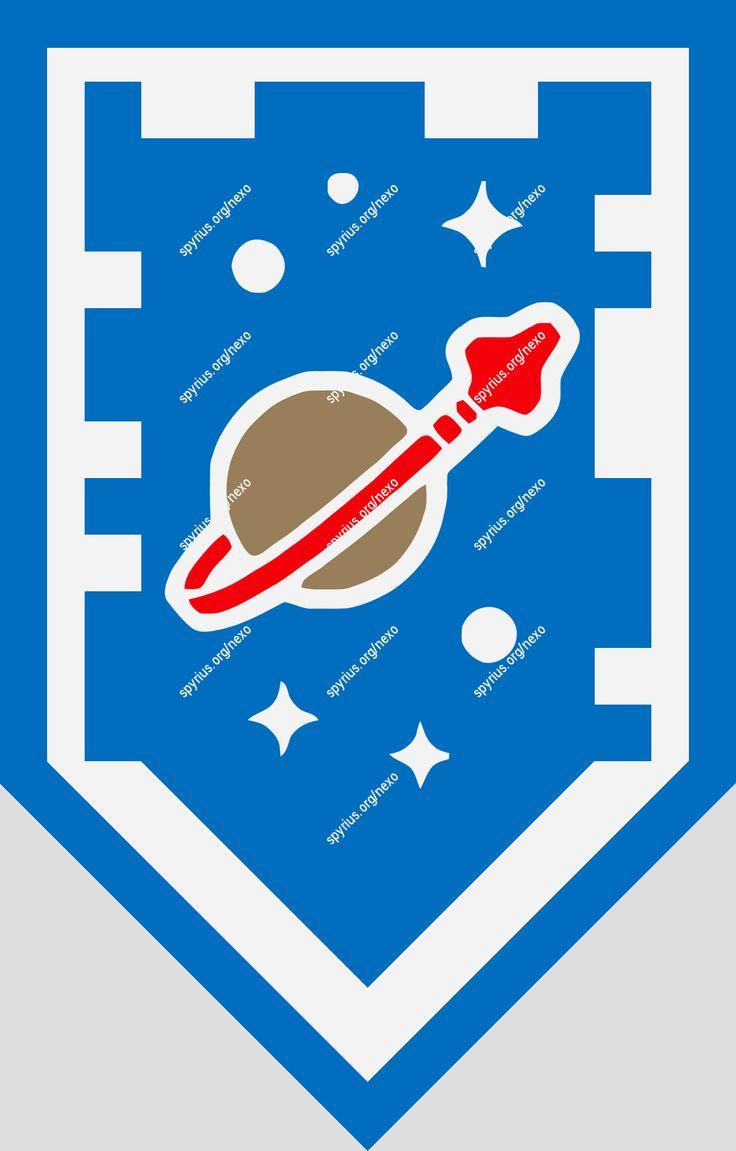 LEGO Nexo Knights Power - Clay - Rocketship | spyrius.org