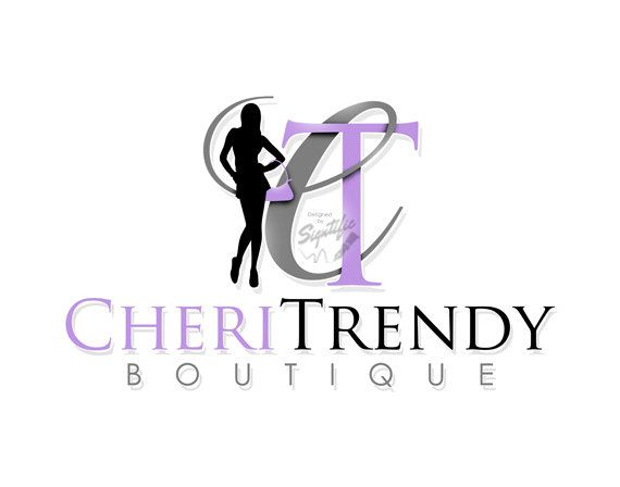 Custom logo design  FREE PSD source file boutique by Signtific