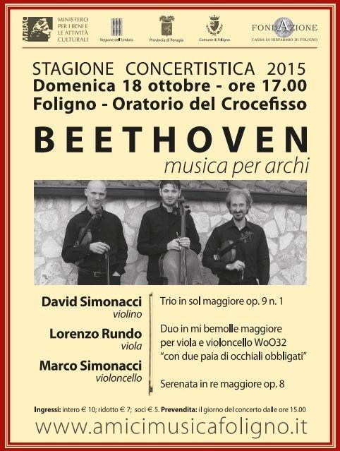 Gli Occhiali di #Beethoven http://www.vivifoligno.it/evento/gli-occhiali-di-beethoven/ #Foligno #Musica
