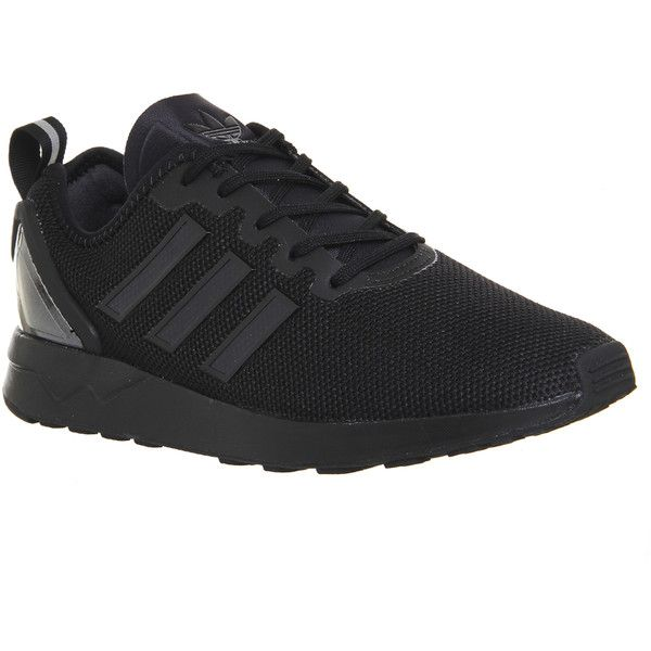 Adidas Zx Flux Racer ($110) ❤ liked on Polyvore featuring