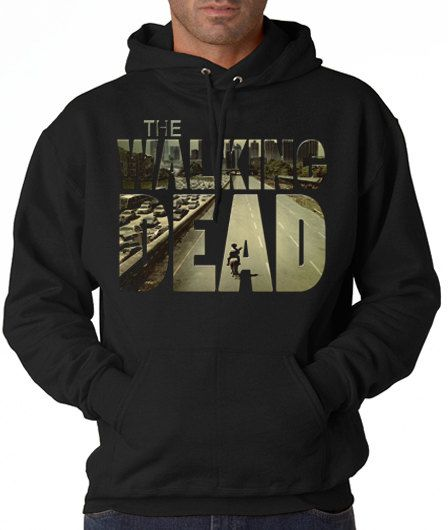 Hoodie the walking dead street  Hoodie Girl Awesome by UltraTshirt, $15.20