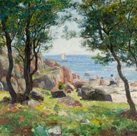 Sommerdag by Thorolf Holmboe