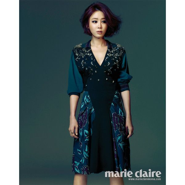 Korean Magazine Lovers (Kang Ye Won - Marie Claire Magazine February Issue...) found on Polyvore