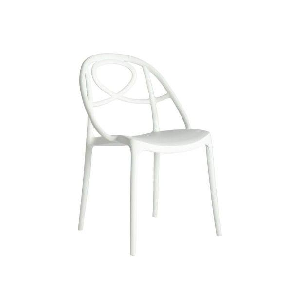 Židle Etoile, bílá   Bonami