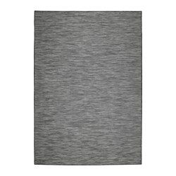 """IKEA - HODDE, Rug flatwoven, in/outdoor, 5 ' 3 """"x7 ' 7 """", , Durable, stain resistant and easy to care for since the rug is made of synthetic fibers.Ideal in your living room or under your dining table since the flat-woven surface makes it easy to pull out the chairs and vacuum.The rug is perfect for outdoor use since it is made to withstand rain, sun, snow and dirt."""