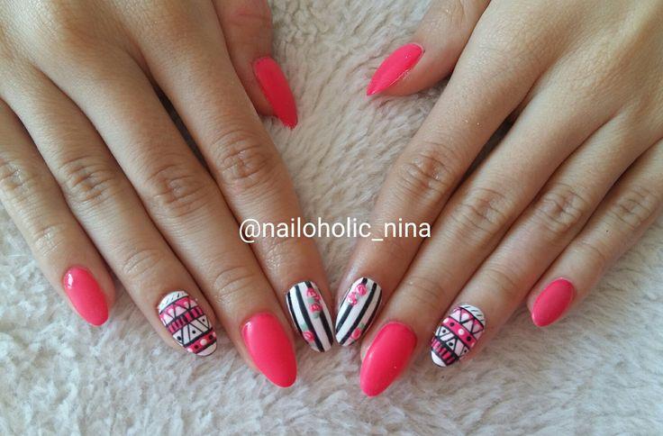 Pink nails ☺