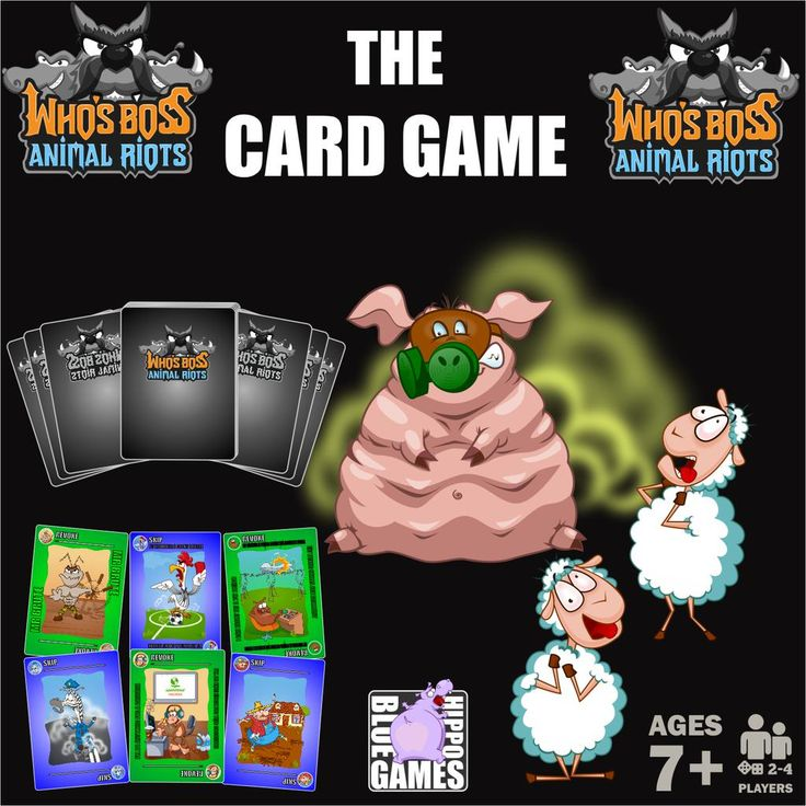 WHO'S BOSS.ANIMAL RIOTS:THE CARD GAME http://tinyurl.com/pa7saxy  #games #Gamer #cards #CardsCamp #gamedesign #gamedev