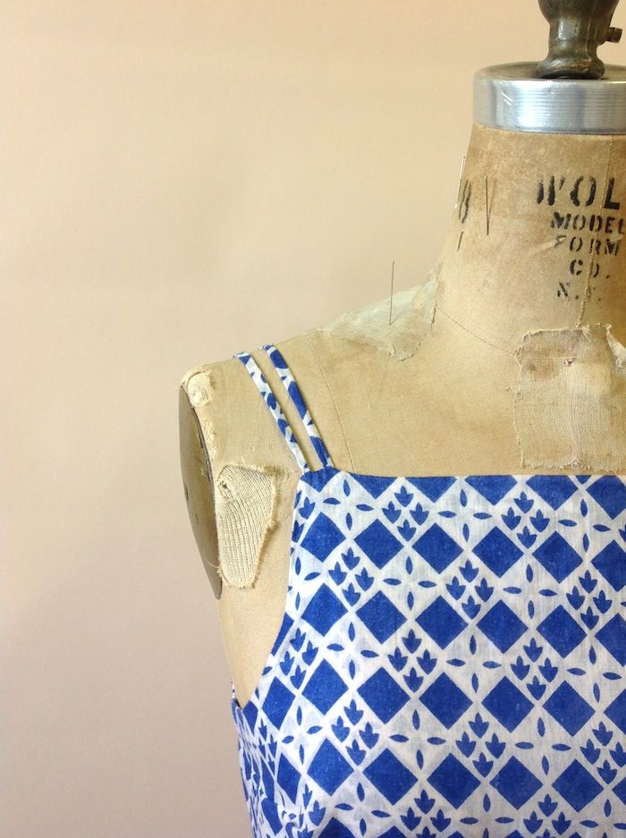Nerdy sewing tips: How to make rouleau straps