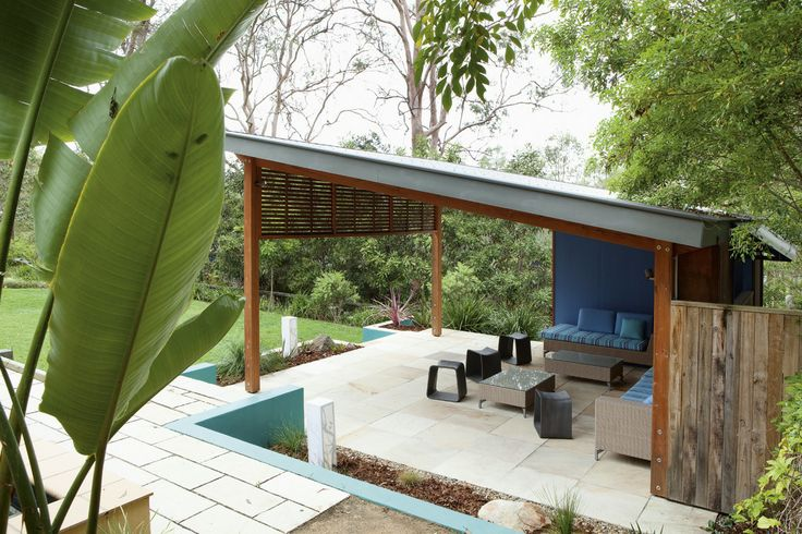 Great Outdoor Entertainment Pavillion in surrounding gardens