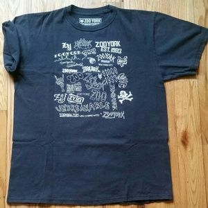 I just added this to my closet on Poshmark: Zoo York graphic tee, size M. Price: $20 Size: M