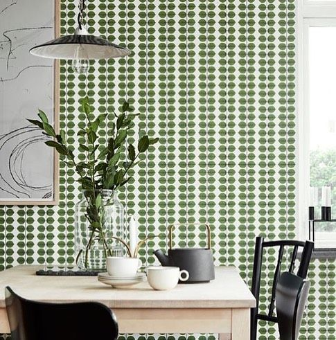Need some wallpaper inspiration? ...We'll just leave this here.  Image via Wallpaper Trader . . . Search 'wallpaper trader' in the Block Shop to see more.  #wallpaper #wallpaperinspo #green #kitchen #goals #melbourne #australianhomes #australia #interiordesign #styling #lovethis #australianinteriors #walls #wallpapertrader #kitchenwallpaper #leaves #nature #home #homestyling #decorating #decor #bedroom #colours #different #homesofaustralia #shopit
