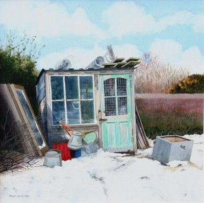 """The Allotment Shed"" by Sylvia Antonsen"