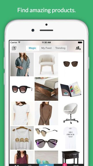 #Wanelo (from Want, Need, Love) is the best way to shop on your phone. #Millions of people use it to find and buy products they love. 1. Every day, Wanelo will show you new amazing products just for you. As you save products you like, Wanelo learns about your style.
