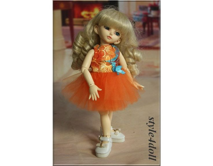 style4doll Dress -tutu for  LittleFee 1/6 BJD YoSD - by sstyle4doll on Etsy