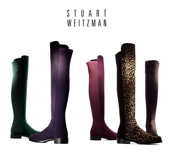 How cool is this?! @Stuart_Weitzman is giving away 100 pairs of #5050 #boots. I just entered…why don't you? #WIN5050 http://stuartweitzmanspring13.com/5050